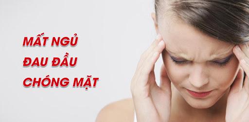 Rất nhiều nguyên nhân gây ra tình trạng đau đầu, chóng mặt