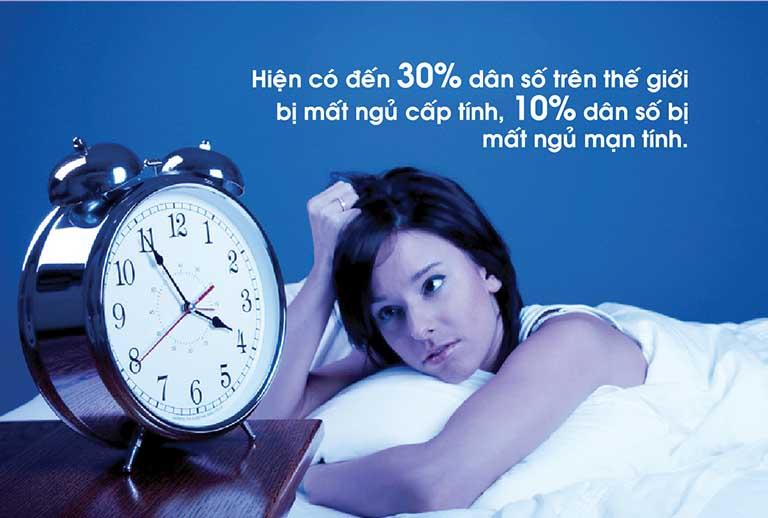 Mất ngủ là tình trạng của rất nhiều người