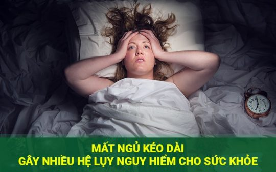 Mất ngủ gây nguy hiểm đến sức khỏe con ngườ