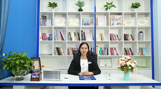Chuyên gia Bùi Thị Hải Yến - Giám đốc Trung tâm Tâm lý trị liệu NHC Việt Nam