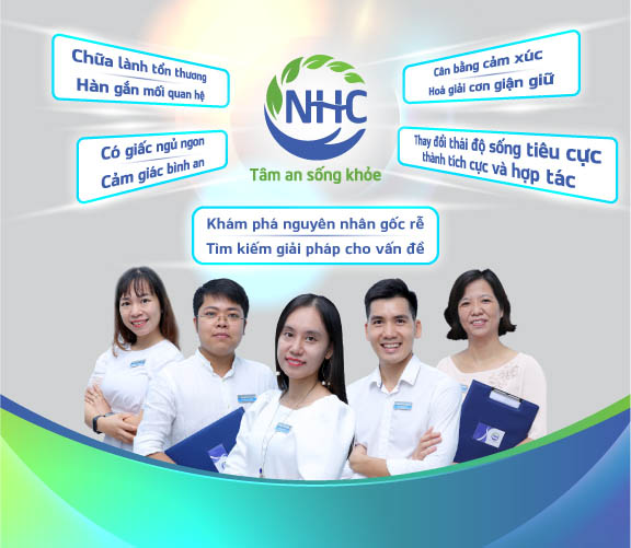 NHC trị liệu tâm trí, chữa lành tâm bệnh