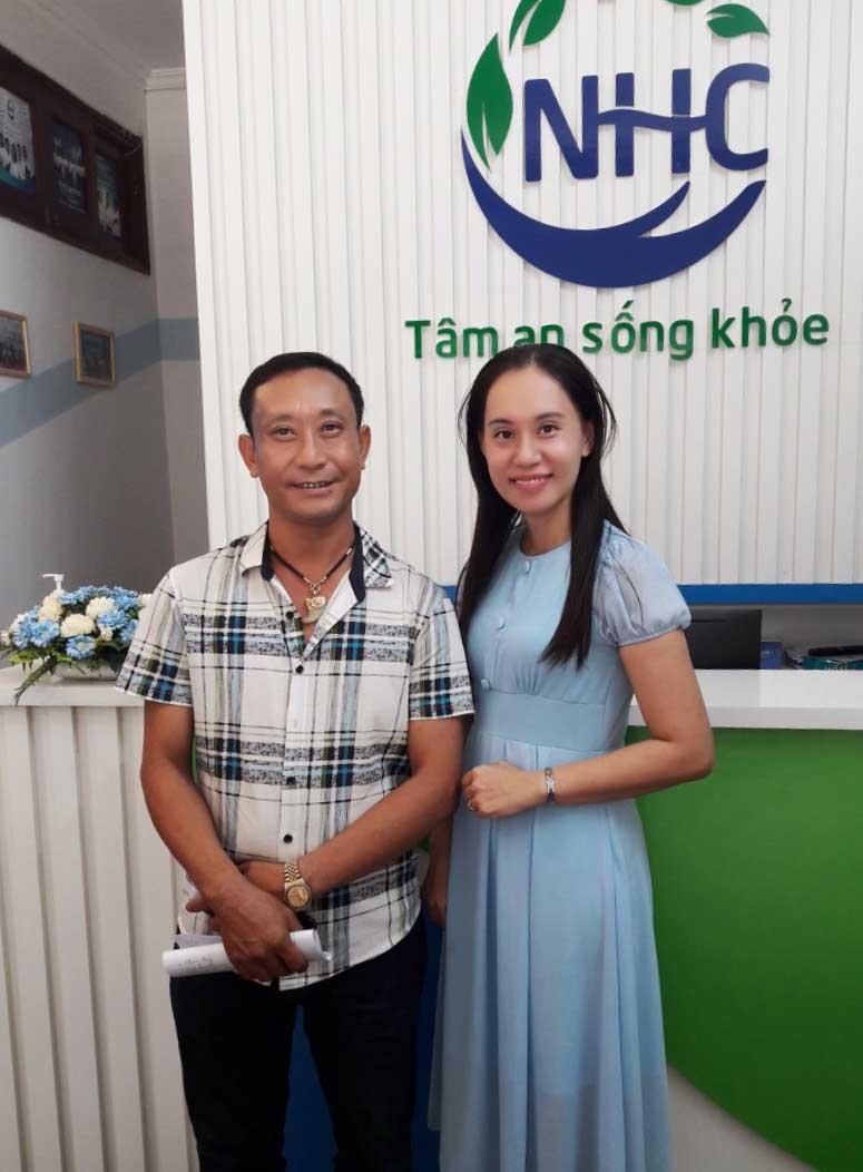 Anh Đào Mạnh Hùng trị liệu buổi thứ 3 tại NHC