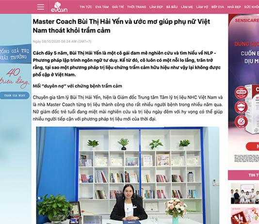 [Eva.vn] - Master Coach Bùi Thị Hải Yến và ước mơ giúp phụ nữ Việt Nam thoát khỏi trầm cảm