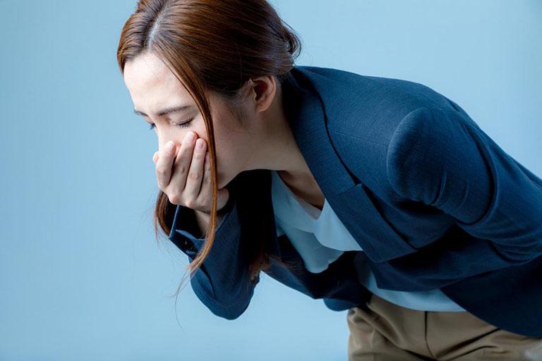 Stress dẫn đến buồn nôn