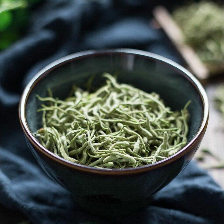 Trà hoa kim ngân – Loại trà chữa mất ngủ thơm ngon