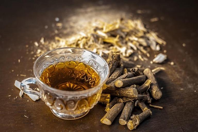 Trà cam thảo – Loại trà chữa mất mất ngủ dễ làm
