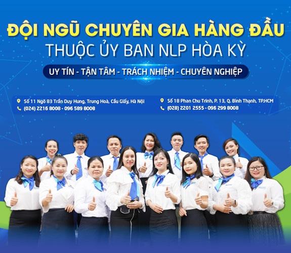Đội ngũ Master Coach thuộc Trung tâm Tâm lý trị liệu NHC Việt Nam