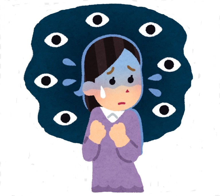 Hội chứng sợ bị người khác nhìn