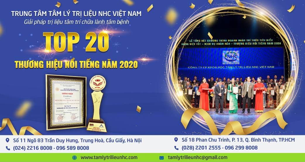 trao giải thương hiệu năm 2020
