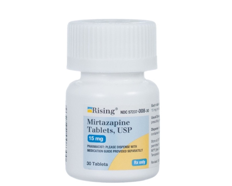thuốc trầm cảm Mirtazapine
