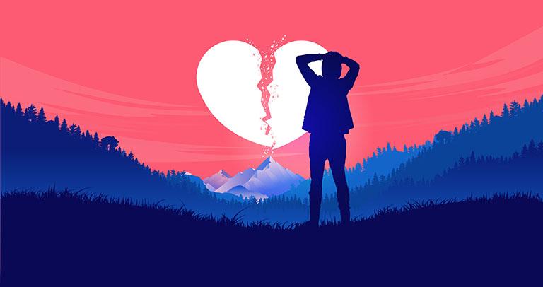 tâm lý đàn ông sau khi chia tay